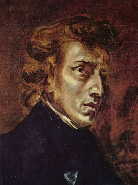 Chopin by Delacroix