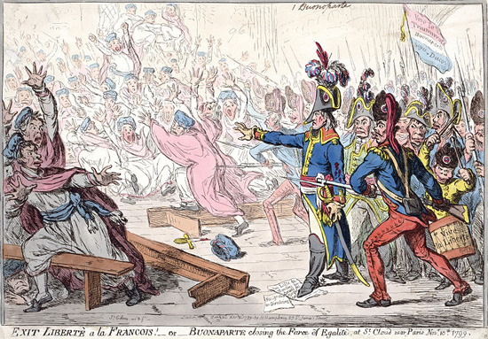 Gillray-Bonaparte-Closing-the-Farce-of-Egalite