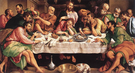 Jacopo-Bassano-Last-Supper
