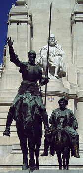 monument-to-Cervantes-Madrid