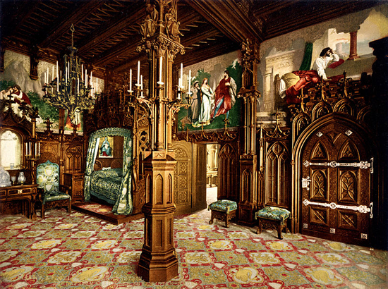 Neuschwanstein-bedroom