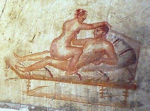 Pompeii-wall-painting-brothel