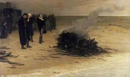 Funeral-of-Shelley-by-Fournier