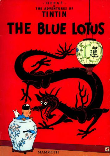 Tintin-Blue-Lotus