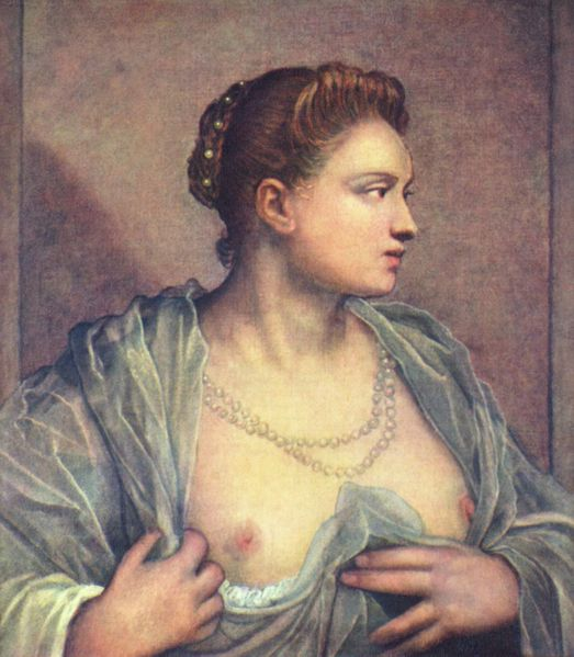 Tintoretto-Lady-Baring-Breast