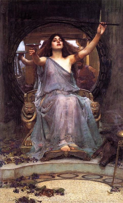 Circe Offering the Cup to Odysseus
