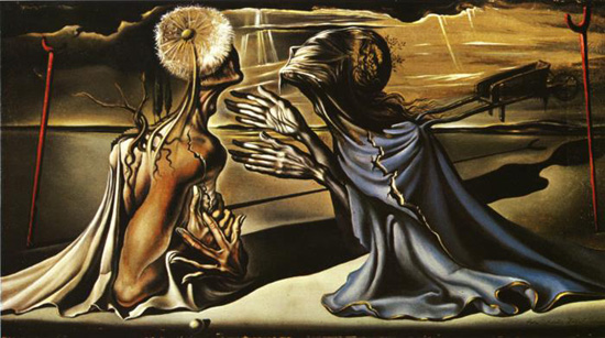 Dali Tristan and Isolde