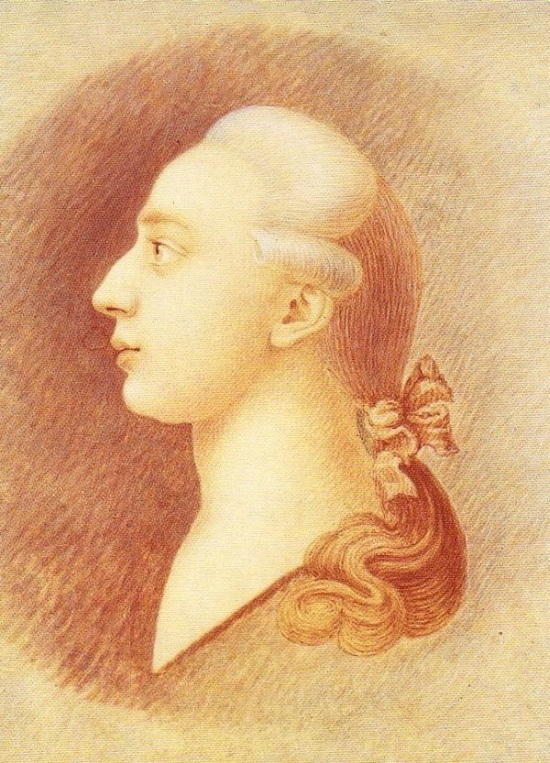 The most well known portrait of Giacomo Casanova was painted around 1750-1755 by his brother Francesco Casanova.