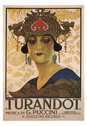 Poster for Turandot